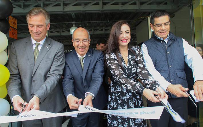 Inauguran Kärcher Center Satélite; alcaldesa agradece la confianza en Naucalpan