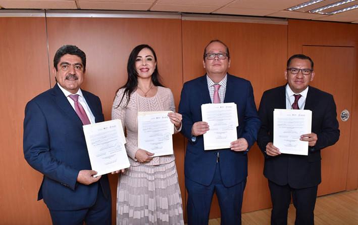 Firman Naucalpan y SAE convenio para predio de Universidad Pública