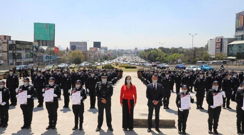 Con trabajo honesto, mejoramos la seguridad de #Naucalpan: Patricia Durán