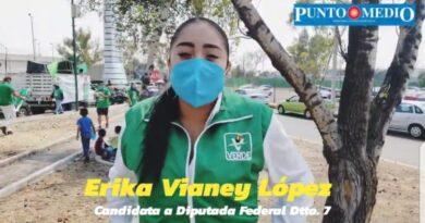 «RODADA VERDE» por avenidas de Cuautitlán #Izcalli. Erika Vianey López pugnará por más recursos para infraestructura hidráulica y seguridad.